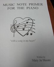 Mary Jo Moore/Music Note Primer for Piano/Home School Friendly/Christian
