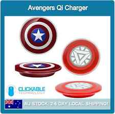 Avengers Wireless Qi Charger Charging Pad For Samsung Galaxy S6 & S6 Edge+