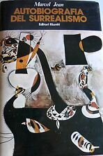 MARCEL JEAN AUTOBIOGRAFIA DEL SURREALISMO EDITORI RIUNITI 1983