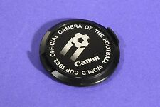 Canon 52mm Official Camera Of The Football World Cup 1982 Lens Cap ** Excellent+