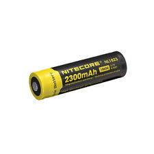 Nitecore NL183 (new NL1823) 18650 Li-ion 2300 mAh Protected Button Top battery