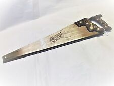 DISSTON SELECT Model D-95-S Hand Saw 10 pt. Cross Cut, Original Container, USA