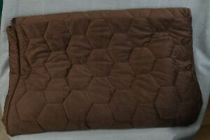 Non Skid Waterproof Recliner Furniture Cover Chocolate