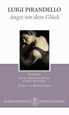 »Angst vor dem Glück. Erzählungen« von Luigi Pirandello. Manesse Weltliteratur