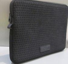"Marc by Marc Jacobs Neoprene 13"" Black Computer Laptop iPad Case Sleeve.Logo."