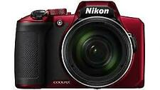 0000139996| Nikon Coolpix B600 Red Digital Camera