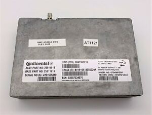 OEM 07-16 GMC Acadia Continental Communication Control Computer Module Unit