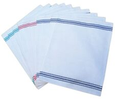 Cotton Kitchen Restaurant Glass Cloth Pack of 10 Catering Tea Towels Assorted