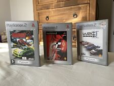 3 x Platinum PS2 Driving Games Bundle Burnout 2 GT3 A-spec / WRC Extreme II