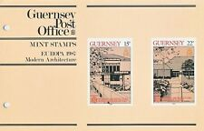 GUERNSEY PRESENTATION PACK MNH 1987 EUROPA CEPT MODERN ARCHITECTURE