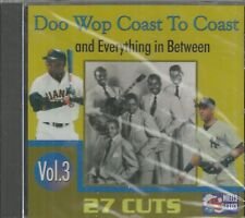 DOO WOP COAST TO COAST - CD -  Vol. 3 - BRAND NEW