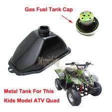 Metal Gas Fuel Tank +Cap For Chinese ATV Kids 50cc 70cc 90cc 110cc 125cc Quad