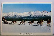Alaska Ak Alaskan Husky Dog Team Northern Postcard Old Vintage Card View Post Pc
