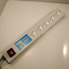 Olson Data Protector 5-Way Gang Distribution Panel UK Plug 10A 250v AC BS 5733