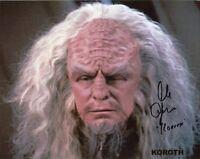 "ALAN OPPENHEIMER Authentic Hand-Signed ""Star Trek: Next Generation"" 8x10 photo"