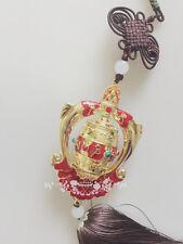 Buddhism Prayer Wheel with Hand Made Auspicious lucky Auto Hanging -03