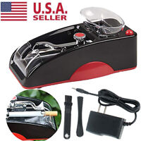 Electric Tobacco Cigarette Rolling Roller Automatic Injector Maker Machine US