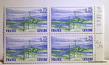 YT1863  CENTRE     - BLOC DE 4 - TIMBRES NEUFS** LUXE  ACA1