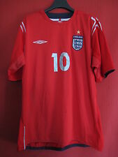 Maillot Umbro Angleterre vintage Owen n° 10 England Ancien Away - XL