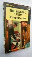 JOSEPHINE TEY THE SINGING SANDS 1ST/1 1955 PAN G??? INSPECTOR GRANT MURDER RARE
