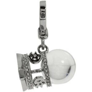 Juicy Couture Charm Love Fortune Ball Silver tone