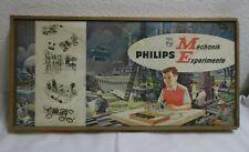 60er  Jahre Baukasten Philips ME 1200 Mechanik Experimente 60s Vintage