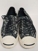 Converse Unisex Jack Purcell Canvas Sneakers Shoes Men's Size 10.5 Blue White Gr