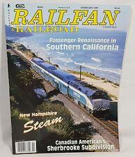 RailFan & Railroad Magazine Back Issue February 1999 Passenger in California