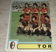 FIGURINA CALCIATORI PANINI 1980/81 TORINO SQUADRA N° 286 ALBUM 1981
