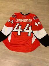 2007-08 Mike Commodore Ottawa Senators Game Used Jersey