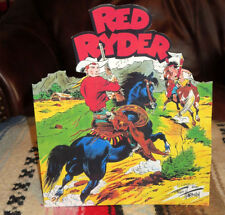 Red Ryder W-Little Beaver Western Cowboy Color Comic Tabletop Display Standee