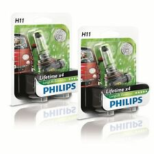 Philips H11 12v 55w pgj19-2 longerlife Ecovision 2 piezas 12362llecob1
