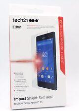 Tech 21 Sony Xperia Z3 Impact Shield autorreparación Superposición Protector Protector de pantalla