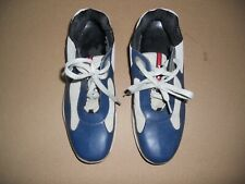 PRADA Leather Sneakers Size Mens US 11 (UK 10 / ITA 44 Prada Sz) ITALY !!!