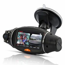 HD Dual Lens Car Vehicle DVR Camera Dashboard Video Recorder Cam G-sensor Dash