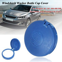 Windshield Washer Fluid Tank Bottle Cap Cover For Peugeot 301 307 308 408 508