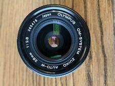 Olympus Zuiko 28mm f/2.8 MC Lens