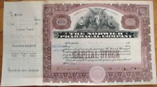 'Norwich Pharmacal Co.' EARLY 1930s Stock Certificate - Pharmacy/Pharmaceutical