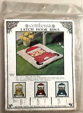 Contessa Latch Hook Rug Canvas Gumball - #Dr 109 Fun Easy Family Project !