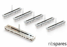 5 X FADER & 1 CROSSFADER KIT POUR PIONEER DJM500 DJM600 djm3000 DCV1010 DCV1006