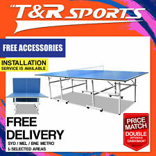 ITTF APPROVED MANUFACTURER 13MM PRO SIZE PORTABLE TABLE TENNIS/PING PONG TABLE