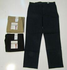 PERRY ELLIS Portfolio Soft Touch Chino Pants Tan Black Navy 32 34 36 38 40 42