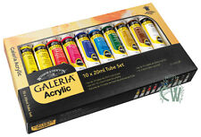 Winsor & Newton Galeria Acrylic 10 x 20ml Artists Paint Tube Set