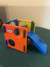 1990's Little Tikes Dollhouse Size Slide Activity Gym Cube