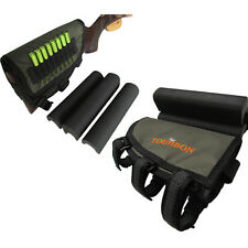 Hunting Gun Rest Pad Stock Holder Rifle Cheek Piece Bullets Carry Green in USA