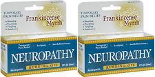 Frankincense and Myrrh Neuropathy Rubbing Oil 2 fl oz (Paks of 2)