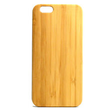 Plain Bamboo Case made for iPhone 8 phones EcoFriendly Durable Bamboo Wood Cover