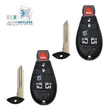 2Key Fob Keyless Remote Beeper Transmitter For 2009-2012 Volkswagen Routan 6 BTN