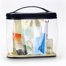 PVC Material Zipper Waterproof Makeup Storage Women Handle Bag Clear Travel Tote