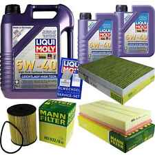 Inspection Kit Filter LIQUI MOLY Oil 7L 5W-40 for Porsche Cayenne 955 3.6 3.2
